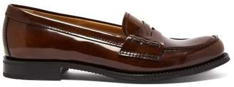 Church's Annie Polished Leather Loafers - Womens - Tan