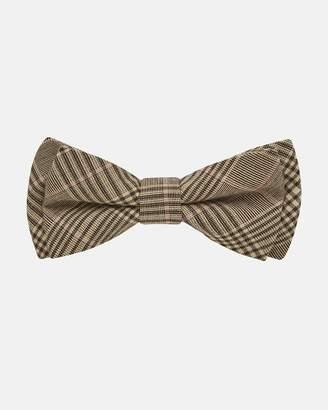 Tartan Bow Tie - Brown