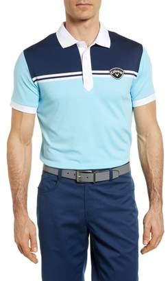 Callaway X Slim Fit Colorblock Polo