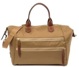 Frye Ivy Nylon Leather-Trimmed Overnight Bag
