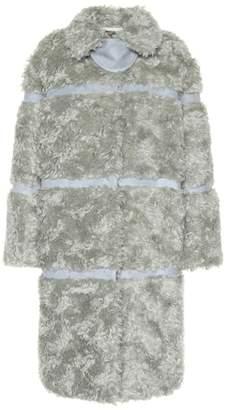 Bottega Veneta Mohair-blend coat