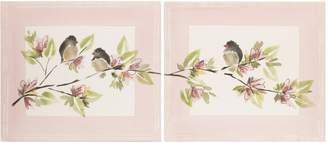 Cotton Tale Designs Nightingale 2-Piece Wall Art