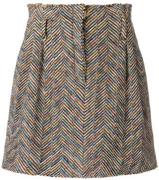 Missoni embroidered mini skirt