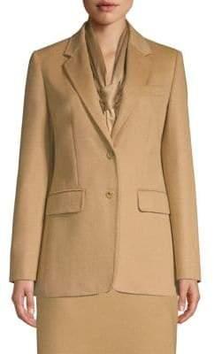 Max Mara Panteon Two-Button Jacket