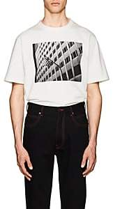 "Calvin Klein Men's ""American Flag"" Cotton T-Shirt - White"