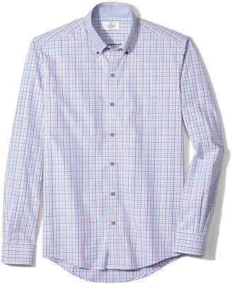 Buttoned Down Men's Slim Fit Button Collar Sport Shirt