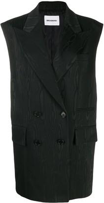 Brognano long double-breasted waistcoat