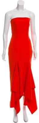 SOLACE London Strapless Veronique Dress