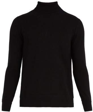 Privee Salle Salle Arvid Roll Neck Cashmere Sweater - Mens - Black