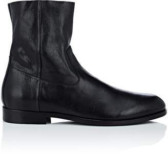 Buttero Men's Leather Side-Zip Boots
