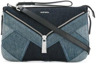 Diesel denim clutch bag $231.55 thestylecure.com