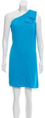 Nicole Miller One-Shoulder Mini Dress w/ Tags