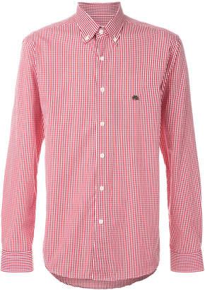 Etro gingham buttondown shirt