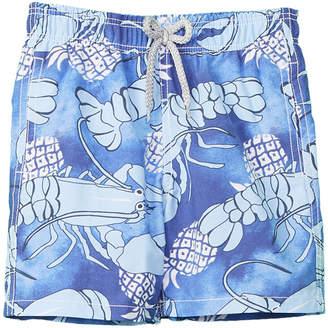 Vilebrequin Lobster Pineapple Swim Trunk