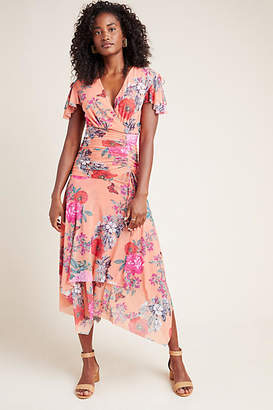Maeve Simone Floral Midi Dress