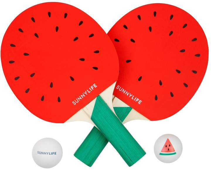 Sunnylife Ping Pong Play On Watermelon