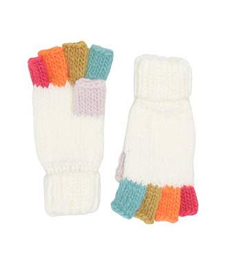 San Diego Hat Company KNG5007 Knit Multicolor Fingerless Gloves