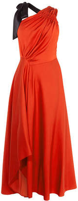 Karen Millen One-Shoulder Maxi Dress