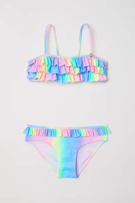 H&M Bikini with Ruffles - Purple