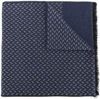 Corneliani fine knit scarf