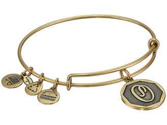 Alex and Ani Initial O Charm Bangle Bracelet