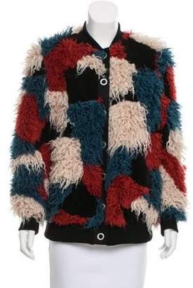Dolce Vita Faux Fur Bomber Jacket