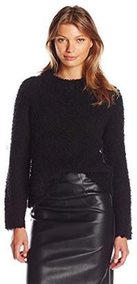Milly Women's Plush Cashmere Pullover