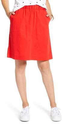 1901 Stretch Cotton Skirt (Regular & Petite)