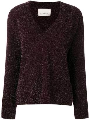 Laneus v-neck knit sweater