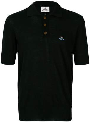 Vivienne Westwood embroidered Orb polo shirt