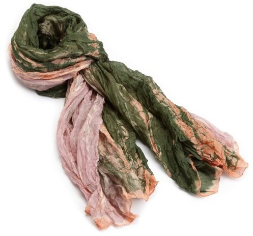 Tolani Women's Tie Dye Crush Scarf
