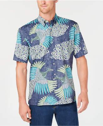 Reyn Spooner Men's Osaka Dream Reverse-Print Pocket Shirt