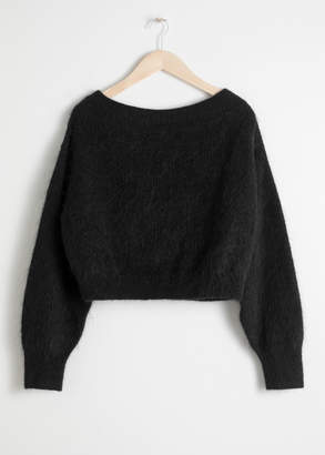 And other stories Off Shoulder Sweater