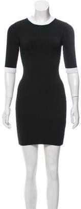A.L.C. Pleated Mini Dress