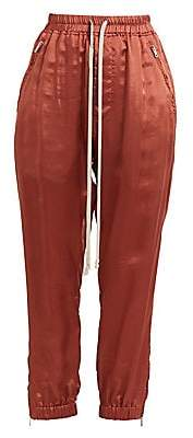 Rick Owens Women's Zipper-Trim Track Pants
