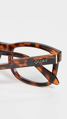 Quay Beatnik Bluelight Glasses