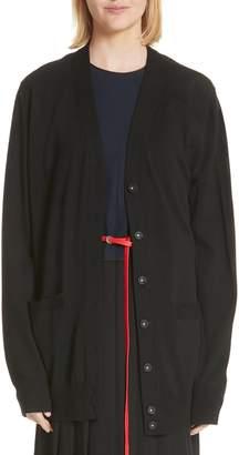 Marc Jacobs Oversized Wool Cardigan