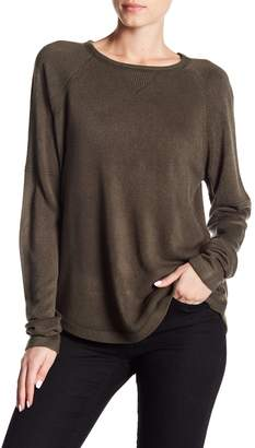 Sweet Romeo Solid Raglan Sweater