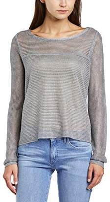 Splendid Women's Glastonbury Sweater Striped Crew Neck Long Sleeve Jumper,(Manufacturer Size:Small)