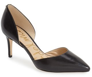 Sam Edelman 'Telsa' d'Orsay Pointy Toe Pump $119.95 thestylecure.com