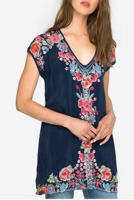 Johnny Was Pari Embroidered Tunic