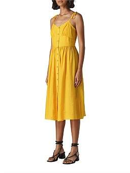 Whistles Sabrina Tie Detail Sundress