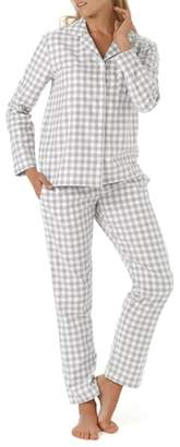 The White Company Gingham Check Pajamas