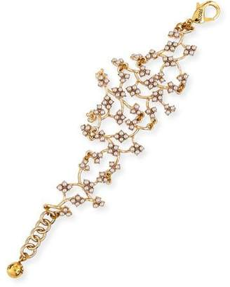 Lulu Frost Jackie Web Link Bracelet $238 thestylecure.com