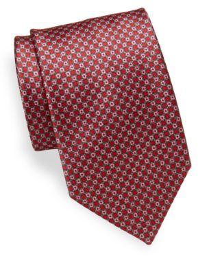 BrioniPrinted Silk Tie