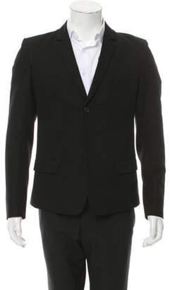Balmain Two-Button Skinny Blazer black Two-Button Skinny Blazer