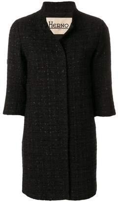 Herno cropped sleeve coat