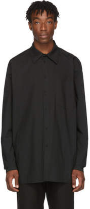 D.gnak By Kang.d Black Double Cuff Shirt