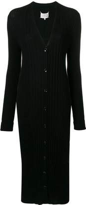 Maison Margiela long fitted cardigan