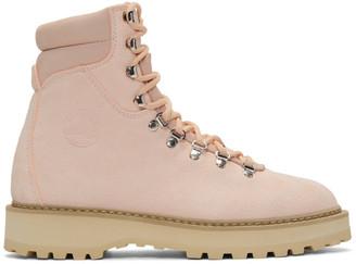 Diemme Pink Suede Monfumo Boots